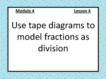 5th Grade Eureka Math Module Four Objectives