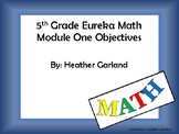 5th Grade Eureka Math Module One Objectives