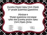 5th Grade Eureka/ New York Essential Questions Module 4