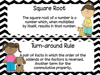 5th Grade Everyday Math Unit 1 Materials