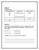 5th Grade Everyday Math Unit 2 Study Guide and Cover Sheet