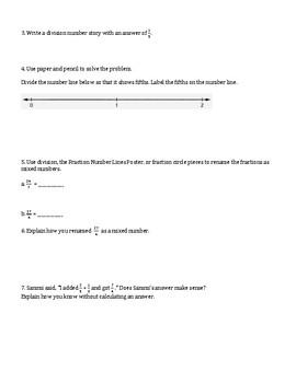 5th Grade Everyday Mathematics / EDM (4) / Math Unit 3 Test Review and Key