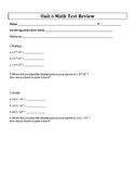 5th Grade Everyday Mathematics / EDM (4) / Math Unit 6 Tes