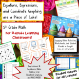 5th Grade Expressions, Equations, and Coordinate Graphing-