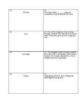 5th Grade FCAT Review Game