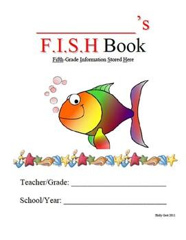 5th Grade FISH Homework BInder