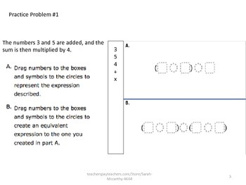 5th Grade FSA CBT More Practice Problems