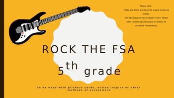 5th Grade FSA Math Review Game