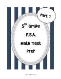 5th Grade FSA Math Test Prep (Part 1)