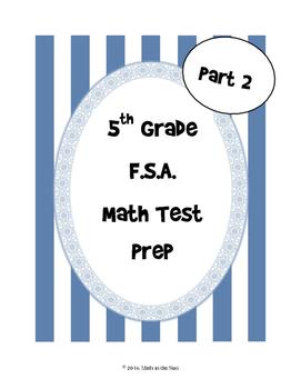 5th Grade FSA Math Test Prep (Part 2)