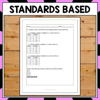 FSA 5th Grade Math (Operations and Algebraic Thinking super pack)