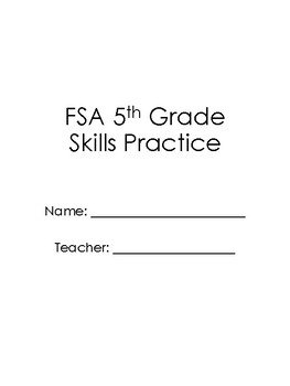 5th Grade FSA Skills Packet