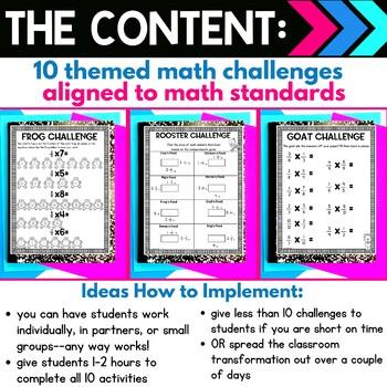 5th Grade Farmer Classroom Transformation   Multiply Fractions