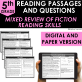 5th Grade Fiction Reading Comprehension - Google Classroom