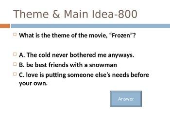 5th Grade Figurative Language & Theme Jeopardy!