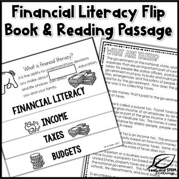 5th Grade Financial Literacy Interactive Notebook Set