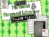 5th Grade Financial Literacy: Taxes Vocabulary (Bilingual, Spanish/English)