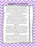 5th Grade Fluency Passages with Comprehension Questions Se