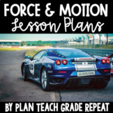 5th Grade Force & Motion Lesson Plans - NC Essential Scien