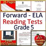 5th Grade Forward ELA Test Prep Practice for ELA - Wisconsin