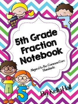5th Grade Fraction Interactive Notebook