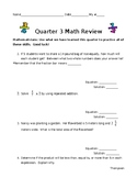 5th Grade Fraction Operations Review