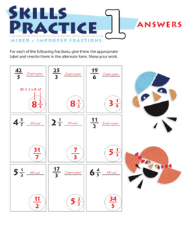 5th Grade Fraction Practice