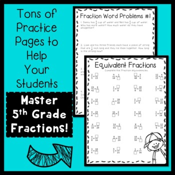 5th Grade Fractions!