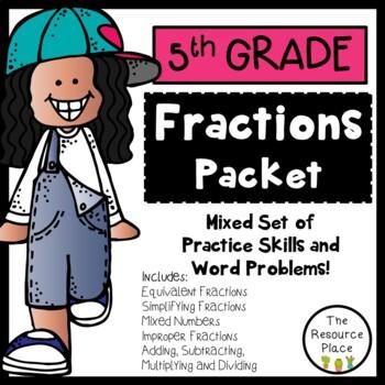 5th Grade Fractions!