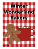 5th Grade Fractions Complete Unit: Winter Wonderland Bakery Room Transformation