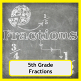 5th Grade Fractions Worksheets