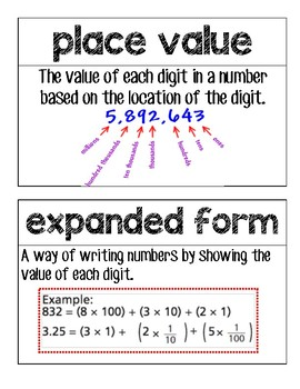 5th Grade GO Math Word Chapter 4