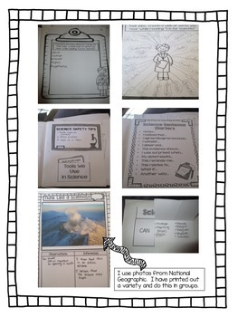 5th Grade General Science Notebook & Resources