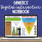 5th Grade Genetics Digital Interactive Notebook - NC Scien