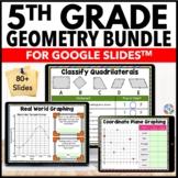 5th Grade Geometry Bundle {5.G.1-5.G.4} Google Classroom D