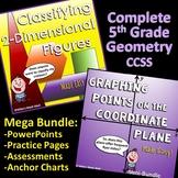 5th Grade Geometry - Complete CCSS - (Bundled Unit)