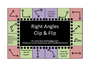5th Grade Geometry Clip & Flip Boards (self checking)