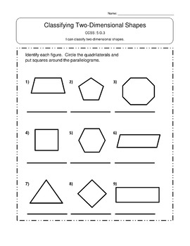 5th Grade Geometry Worksheets 5.G Worksheets 5th Grade Geometry Worksheet Bundle