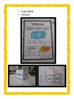 5th Grade Geometry, Measurement & Data Interactive Notebook