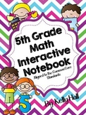 5th Grade Interactive Common Core Math Notebook