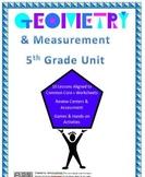 5th Grade Geometry & Measurement Unit