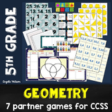 Geometry 5th Grade: 7 games for CCSS