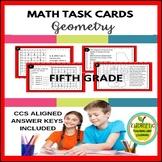 5th Grade Math Task Cards - Geometry