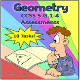 5th Grade Geometry Tasks for CCSS 5.G.1-4