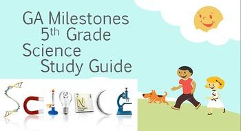 5th Grade Georgia GA Milestones Science SC Study Guide