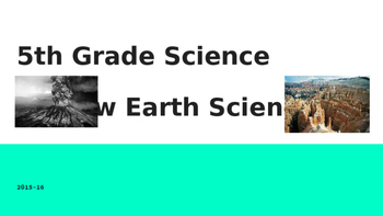 5th Grade Georgia Milestones GMAS Science Review - Earth Science