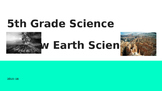 5th Grade Georgia Milestones GMAS Science Review - Earth Science