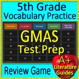 5th Grade Georgia Milestones Test Prep EOG Vocabulary Review Game GMAS