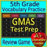 5th Grade Georgia Milestones Test Prep EOG Vocabulary Review Game GMAS