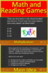 5th Grade Georgia Milestones Writing, Reading, and Math BUNDLE! Tests and Games